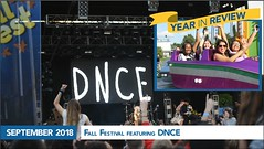 September 2018 - Fall Festival Featuring DNCE (hofstrauniversity) Tags: hofstrauniversity year review 2018 2019