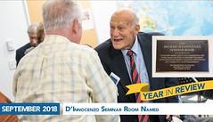 September 2018 - D'Innocenzo Seminar Room Named (hofstrauniversity) Tags: hofstrauniversity year review 2018 2019