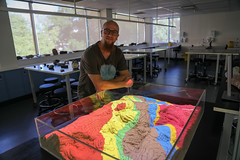 RESEARCH: Geological Sandbox with Christoph Schrank (QUT Science and Engineering Faculty) Tags: sef science qut schoolofearthenvironmentalandbiologicalsciences eebs geology brisbane queensland australia christophschrank leeconstable scope channel ten tv