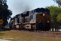 171118_02_CSXT993_Q442bshnl (AgentADQ) Tags: csx transportation train trains railfanning florida sline es44ach csxt 993 q442 railroad