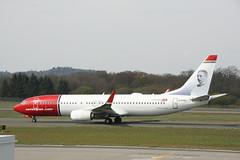 EI-FHU Norwegian B737-800 (Vernon Harvey) Tags: edinburgh edi eifhu boeing 737 norwegian