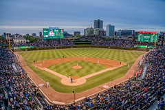 Wrigley Field, Home of The Chicago Cubs (Joshua Mellin) Tags: joshuamellin joshua mellin writer photographer editor blogger cnntravel cnn photoeditor travel journalist best tourphotographer chicago based chicagobased 2018 2019 2020 pic picture pictures joshuamellincom wwwjoshuamellincom socialmedia twitter instagram facebook insta chicagocubs cubs wrigleyfield thefriendlyconfines friendly confines wrigley field historic stadium panoramic full playoffs tickets schedule ballpark stadiums