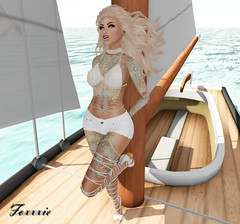Sail Away (F oㄨㄨㄨ) Tags: foxxxie foxxxiedarkmatter slorgasm secondlife 2ndlife second life sl photography virtualreality virtual reality online shadows shadow slblog blog blogger bento bentohead avatar pixel pics pose woman style hair fashion slfashion virtualfashion mesh meshbody outfit tattoo skin maitreya catwa blueberry reign swallow astrology thisiswrong suicidalunborn newrelease