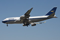 British Airways BOAC Retro Livery 747-436 (G-BYGC) LAX Approach 5 (hsckcwong) Tags: britishairways britishairwaysboacretrolivery boacretrolivery 747436 747400 747 gbygc lax klax