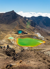 TONGARIRO ALPINE CROSSING (www.PhoTophe.com) Tags: canon christophehervouet discover efs1855mmf3556isii emeraldlakes eos1300d explore hike lake mount mountains newzealand northisland photoshopcc threelakes tongariroalpinecrossing tongarironationalpark travel trip walk wander