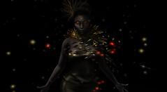 "Black & Gold (Ruina ""Sunshine Tentacles"" Kessel) Tags: zibska plastik secondlife gingerfish doe catwa maitreya naminoke colescorner unik eclipse"