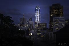 Salesforce Tower (Diane Bentley Raymond) Tags: salesforcetower sanfrancisco skyscrapers nightphotography landmark streetphotography citylights