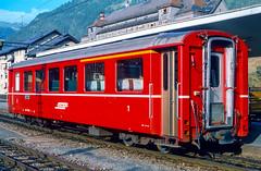 19840827-008 Rhätische Bahn (Wim van der Ent) Tags: rhätischebahn rhb samedan graubünden zwitserland dieschweiz