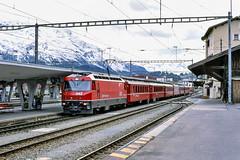 20020926-021 Rhätische Bahn (Wim van der Ent) Tags: rhätischebahn rhb samedan graubünden zwitserland dieschweiz