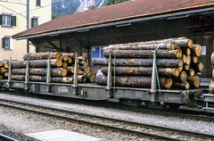 20020926-017 Rhätische Bahn (Wim van der Ent) Tags: rhätischebahn rhb samedan graubünden zwitserland dieschweiz