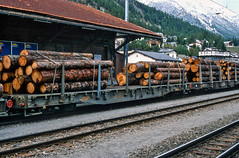 20020926-016 Rhätische Bahn (Wim van der Ent) Tags: rhätischebahn rhb samedan graubünden zwitserland dieschweiz