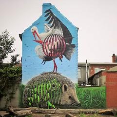 #Ghent update : the new #mural by #CeePil hidden in a park. . #Gent #streetart #urbanart #graffitiart #streetartbelgium #graffitibelgium #visitgent #muralart #streetartlovers #graffitiart_daily #streetarteverywhere #streetart_daily #ilovestreetart #igerss (Ferdinand 'Ferre' Feys) Tags: instagram gent ghent gand belgium belgique belgië streetart artdelarue graffitiart graffiti graff urbanart urbanarte arteurbano ferdinandfeys ceepil