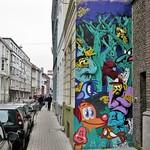 #Ghent update : great that this wall got a new look, a collab by #Resto & #buethewarrior. . #Gent #streetart #mural #urbanart #graffitiart #streetartbelgium #graffitibelgium #visitgent #muralart #streetartlovers #graffitiart_daily #streetarteverywhere #st thumbnail