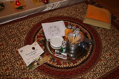 all the stuff for drawing and painting (Lina (Prema) Polmonari) Tags: colors colori mandala concentration meditation meditazione ommanipadmehum