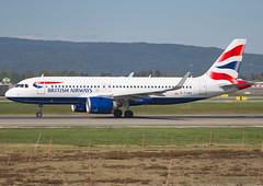 G-TTNG (Skidmarks_1) Tags: gttng airbusa320 britishairways engm norway osl oslogardermoenairport aviation aircraft airport airliners