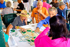 Fair Game (Michael Goldrei (microsketch)) Tags: x100t domino color street little havana concentration 2016 colour photos photographer st photography x outdoors miami dominoes photo gomez old people club elderly concentrate sociable maximo fujifilm florida social playing game colorful colors t colours play games colourful 16 park xseries 100 fuji fl