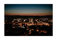 Swabian Blues (Thomas Listl) Tags: thomaslistl color stuttgart 35mm evening night lights city cityscape landscape urban swabian town blue orange sunset dusk ngc