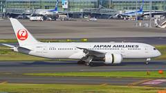 Boeing 787-8, JA827J, Japan Airlines (tkosada.mac) Tags: japanairlines oneworld dreamliner boeing b788 tokyointernationalairport hanedaairport hnd rjtt
