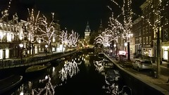Illuminated Amsterdam, Netherlands (Sylar8travel) Tags: illuminated amsterdam netherlands city night building buildings water waterway