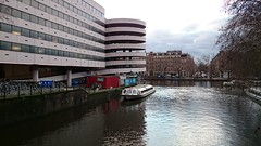 Multi-storey parking?, Netherlands (Sylar8travel) Tags: parking netherlands city water boat building amsterdam buildings waterway