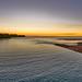 Timor Sea sunset from Rapid Creek mouth, Darwin Harbour, Northern Territory, Australia