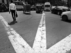 Dhaka|2019 (Shahrear94) Tags: streetzen streetphotography bnw blackandwhite black blackwhite outside dhaka dhanmondi bangladesh road geometry flicker flickrstreet aero lines highlighted leading 24mm human urban monochromatic monochrome moment mobileshot mia2 minimalistic