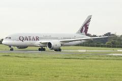 A7-BCN   Qatar Airways   Boeing B787-8 Dreamliner   CN 38332   Built 2014   DUB/EIDW 30/04/2019 (Mick Planespotter) Tags: aircraft airport dublinairport dub 2019 collinstown nik sharpenerpro3 b787 a7bcn qatar airways boeing b7878 dreamliner 38332 2014 eidw 30042019