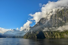 Milford Sound (morome7e) Tags: milford sound fjord new zealand cruise sea sunrise mountain