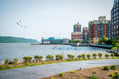 Yonkers Waterfront (JMS2) Tags: scenic hudsonrivervalley yonkers waterfront park architecture palisades hudsonriver seascape development westchester