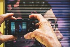 Portrait of a grafitti (Sonia gsgs) Tags: grafitti portrait agameoftones colors sony sonya6000 sonyalpha mirrorless 1650mm urbanshots streetshots streetphotography urbanphotography