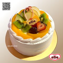 耶里 經典水果布丁蛋糕 (ellie la pâtisserie) Tags: ellie taipei taiwan handmade dessert cake assortfruit pudding photooftheday 耶里 台北 台灣 經典 水果 布丁 蛋糕 甜點 手作