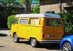 1978 Volkswagen Transporter 1600 Westfalia (T2) (rvandermaar) Tags: 1978 volkswagen transporter 1600 westfalia vw sidecode6 grijskenteken 46bdsz volkswagentransporter vwtransporter vwt2 volkswagent2 camper