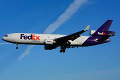 N606FE (FedEx) (Steelhead 2010) Tags: fedex federalexpress mcdonnelldouglas md11 md11f cargo freighter yyz nreg n606fe
