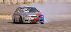 drifting (pjarc) Tags: europe europa italy italia veneto adria circuit drifting controsterzo action sport car auto bmw foto photo colori colors race nikon dx motor