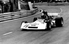 NIKI LAUDA B.R.M. F-1 G.P. Spain 1973 Circuit de Montjuic (Manolo Serrano Caso) Tags: niki lauda brm f1 gp spain 1973 circuit de montjuic formula one racing car montjuich granprix pentax spotmatic asahi camera