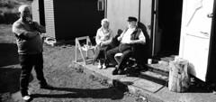 03a South Gare Fishermen's Huts Association, Redcar (I ♥ Minox) Tags: film 2019 olympus om2 om2n olympusom2 olympusom2n om2582 hp5 ilford ilfordhp5plus 400asa ilfordhp5 southgare redcar