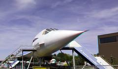 Model Concorde Flugausstellung Hermeskeil 3D (wim hoppenbrouwers) Tags: concorde flugausstellung hermeskeil 3d anaglyph stereo redcyan vliegtuig aircraft fake model