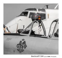 Beechcraft T-34A (Ignacio Ferre) Tags: fio fundacióninfantedeorleans lecu cuatrovientos madrid españa spain mentor beechcraftt34a nikon spotting aeronave aircraft airplane airshow avión aviation avioneta aviación