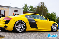 "Yellow Audi R8 stanced • <a style=""font-size:0.8em;"" href=""http://www.flickr.com/photos/54523206@N03/40934628543/"" target=""_blank"">View on Flickr</a>"