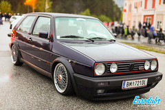 "VW Golf MK2 GTi stanced • <a style=""font-size:0.8em;"" href=""http://www.flickr.com/photos/54523206@N03/40934646783/"" target=""_blank"">View on Flickr</a>"