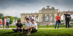 Die Aussicht, the view (fritz polesny) Tags: panasonicg81 1260mm wien vienna schönbrunn gloriette tourists overtourism
