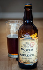 Bottle of South of the Border ( a 3.6% red Bitter from the Potton Brewery) (Panasonic S1 & Lumix S 24-105mm f4 Zoom) (1 of 1) (markdbaynham) Tags: beer cerveza birra ale bitter drink label closeup panasonic s1 panasonics1 lumix lumixszoom lumixs1 lumixer 24105mm 24105mmf4 panasoniczoom dmcs1 ff fullframe fullframemirrorless panasonicfullframe mirrorless mirrorlesscamera mirrorlessfullframe pottonbrewery bottle