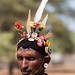 Samburu moran, decorated to impress