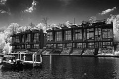 Boxed In (Eric Tischler) Tags: rocky river marina cleveland townhouse homes waterfront