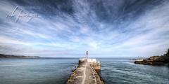Banjo Pier - Looe (Rob Furminger) Tags: looe cornwall cornish county duchy uk great britain sea seaside coast coastal fishing harbour harbor hdr tonemapped raw river clouds sky banjo pier
