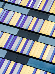 The crossing (jefvandenhoute) Tags: belgium belgië light lines shapes geometric wall windows