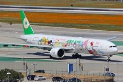 B777 B-16703 Los Angeles 28.03.19 (jonf45 - 5 million views -Thank you) Tags: airliner civil aircraft jet plane flight aviation lax los angeles international airport klax 777 b777 eva air boeing b16703