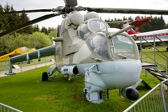 """Mil Mi-24 """"Hind"""", Flugausstellung Hermeskeil, Germany (AperturePaul) Tags: germany europe nikon d600 helicopter chopper military aviation russian attack mil hind flugausstellung hermeskeil mi24 museum"""