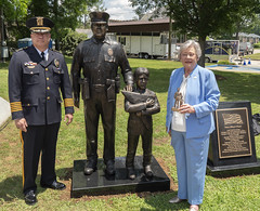 Unveiling of Police Officers Name on Memorial