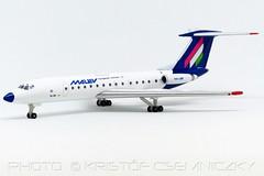 MALEV Hungarian Airlines Tu-134 1:500 Herpa Wings (KristofCs) Tags: halbr tu134 malev herpa 1500
